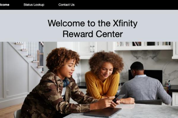 Xfinity's incentive tracker portal built by tristar