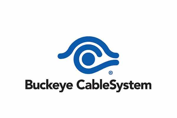 Buckeye broadband logo for customer rewards program built by tristar